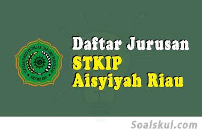 daftar jurusan di stkip aisyiyah riau