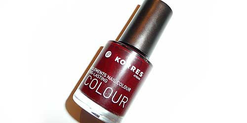 esmalte de uñas kit korres party essentials
