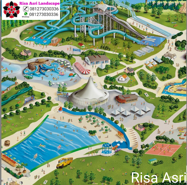 Jasa Kolam Renang , Kontraktor WaterBoom WaterPark