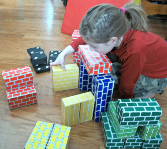 Child Development Psychology Building Block Towers: Play Based Learning