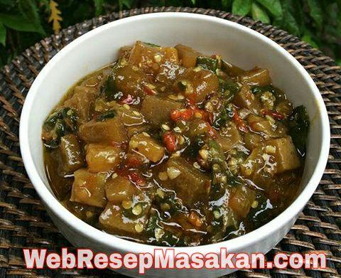Sambal Kikil Cabe Ijo, resep sambal kikil cabe ijo pedas,