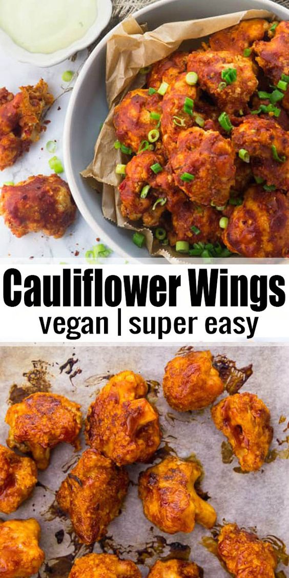 These vegan cauliflower hot wings with vegan aioli are the perfect comfort food! They're so tangy, spicy, and incredibly comforting. And they're also a lot healthier than chicken wings! We've made them so many times and they're always a real crowd-pleaser!