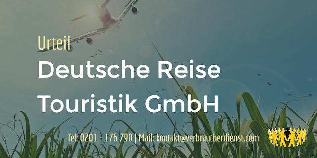 Titelbild: Deutsche Reise Touristik GmbH Urteil