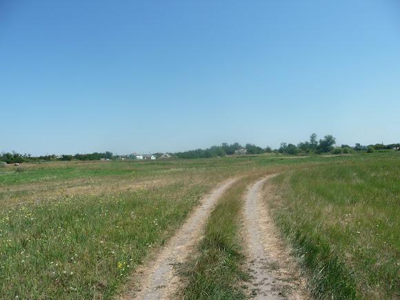 Река Волчья. Дорога в Васильковку