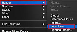 cara membuat flare di photoshop