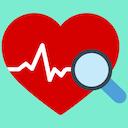 Icon ECG Master: Electrocardiogram Quiz & Practice