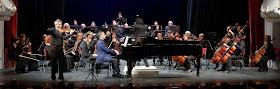 Ivo and Lachezar Stankov performing with the Varna Philarmonic