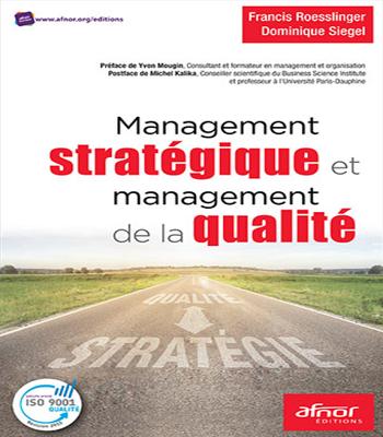 management stratégique et management de la qualité en pdf