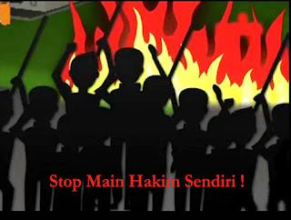 Stop Main Hakim Sendiri