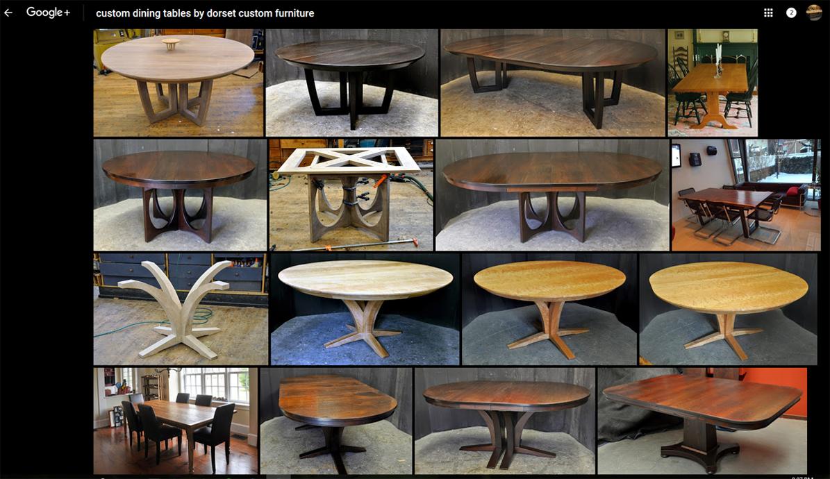 Dorset Custom Furniture A Woodworkers Photo Journal