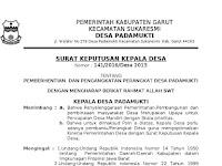 Contoh Surat Pengantar Permohonan Rekomendasi Aparat Pemerintahan