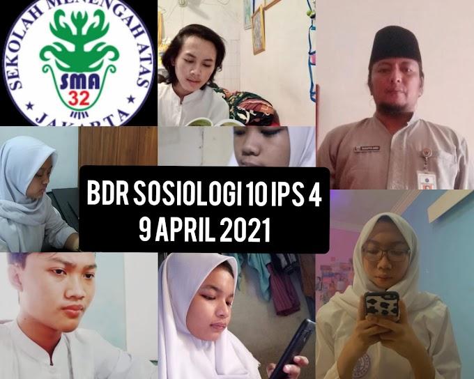 Sosiologi IPS 4 (16 April 2021)