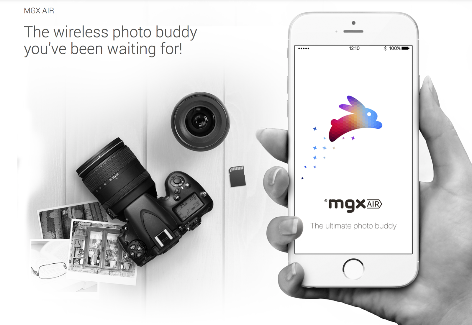 The wireless photo buddy you've been waiting for! | MGX Ahead of photography