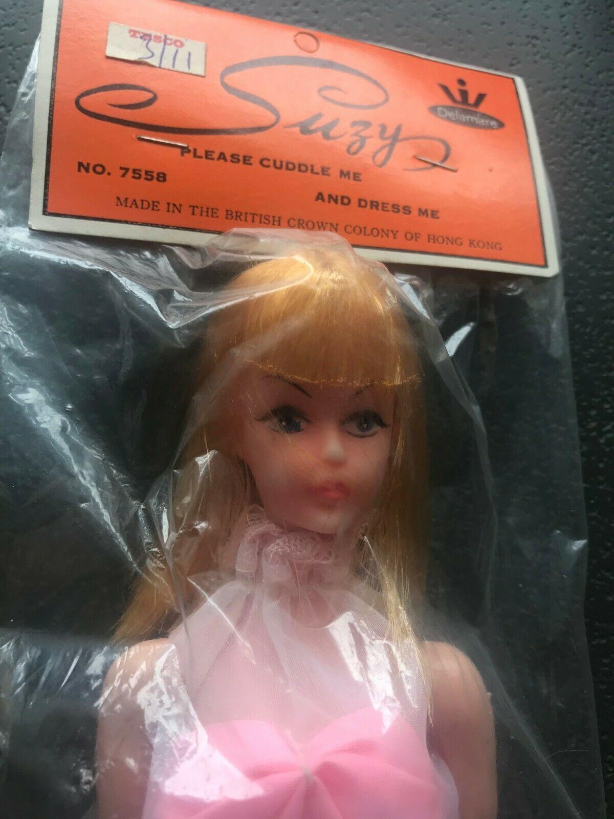 70er 3 Puppenkleider Barbie Steffi Petra und alle anderen 29cm Modepuppen  NEU!