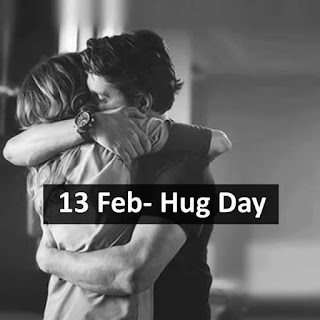 13th Day of Feb: Hug Day
