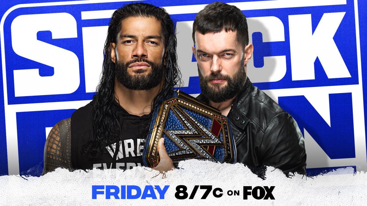 Finn Bálor disputará o WWE Universal Championship no próximo Friday Night SmackDown