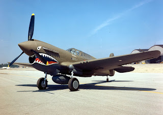 Flying Tigers Curtiss P-40E Warhawk