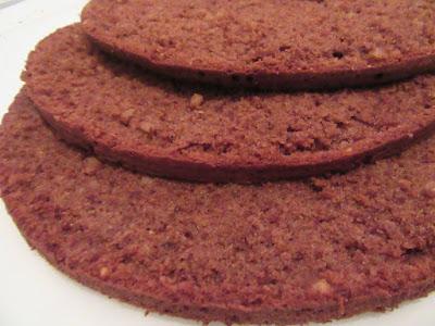 Čokoladni biskvit / Chocolate biscuit