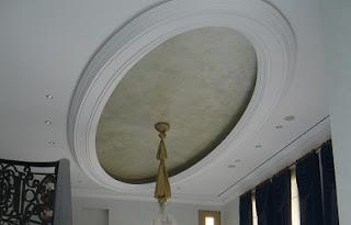 plafon gypsum oval