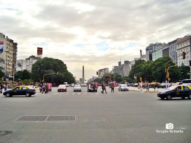 Avenida 9 de Julio com Avenida Rivadavia - Buenos Aires