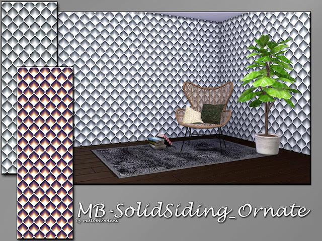 Стены с декоративной штукатуркой для Sims 4 со ссылками на скачивание