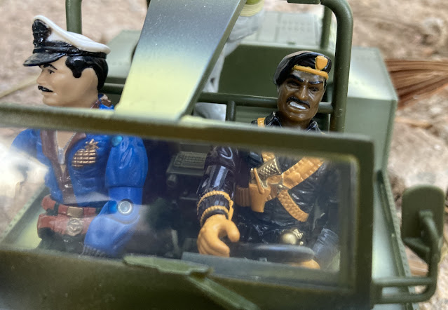 1986 Roadblock, 1992 Talking Battle Commanders Stalker, 1993 Keel Haul, Battle Corps, G.I. Joe Admiral