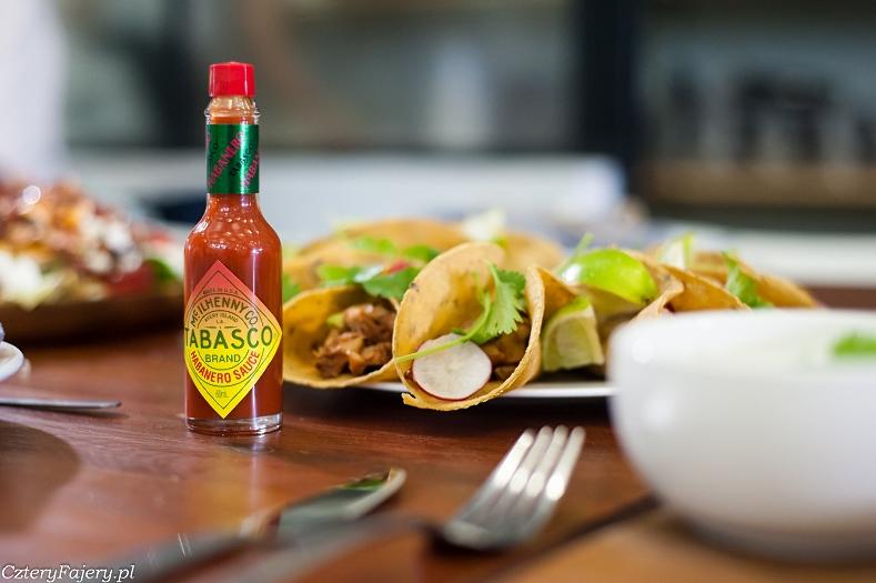 Tacos z pikantnym grillowanym kurczakiem