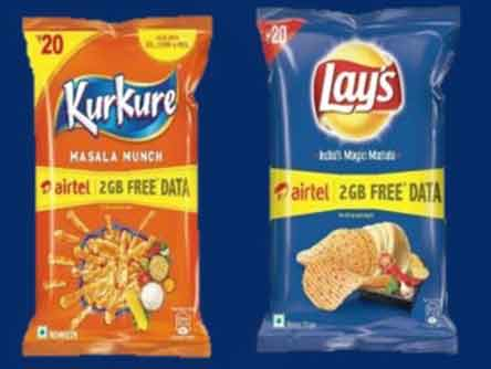 Kurkure, Lays, Doritos, Uncle Chips Airtel Free Data Loot, I have earned 10GB for free (Proof Added)
