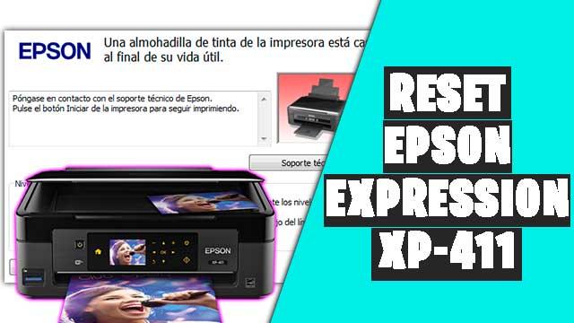 resetear impresora EPSON Expression XP-411