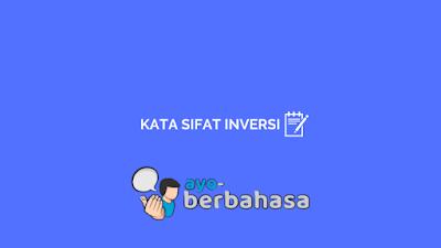 contoh adjektiva inversi