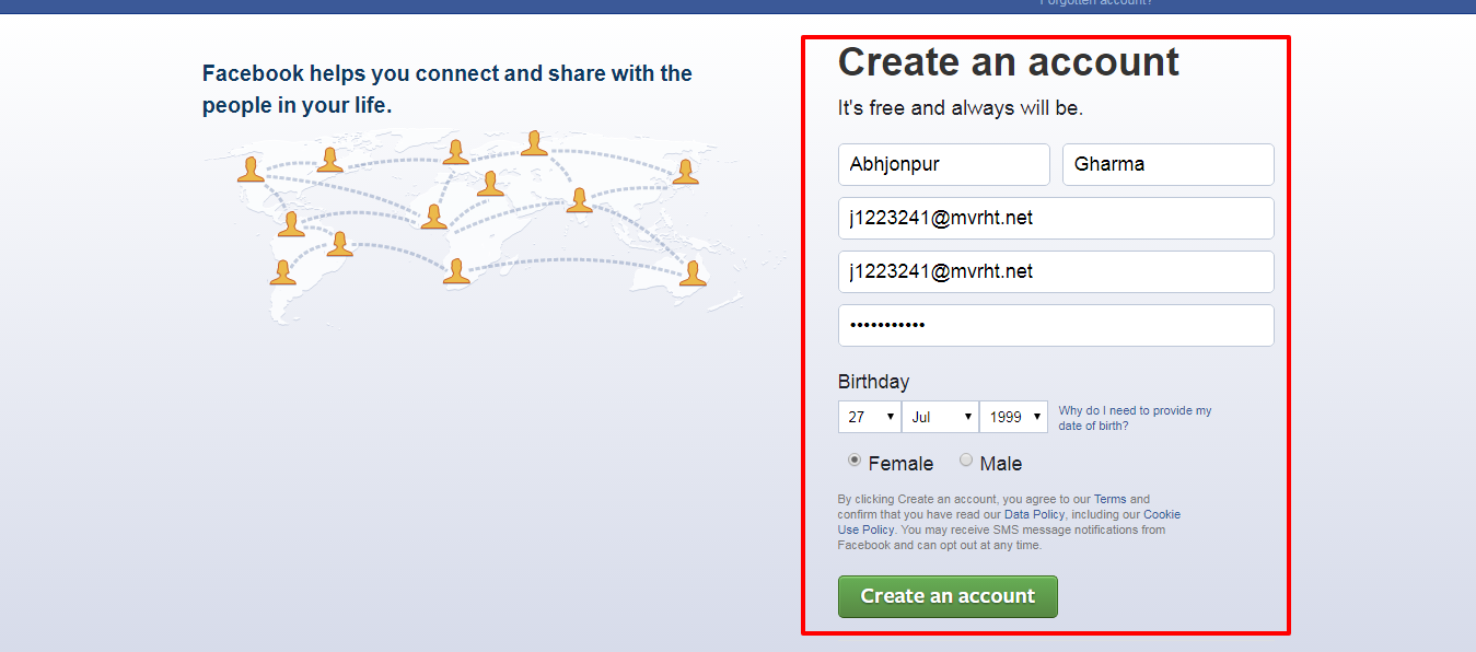 Cyber One How To Create Fake Facebook Account Without Number And Email