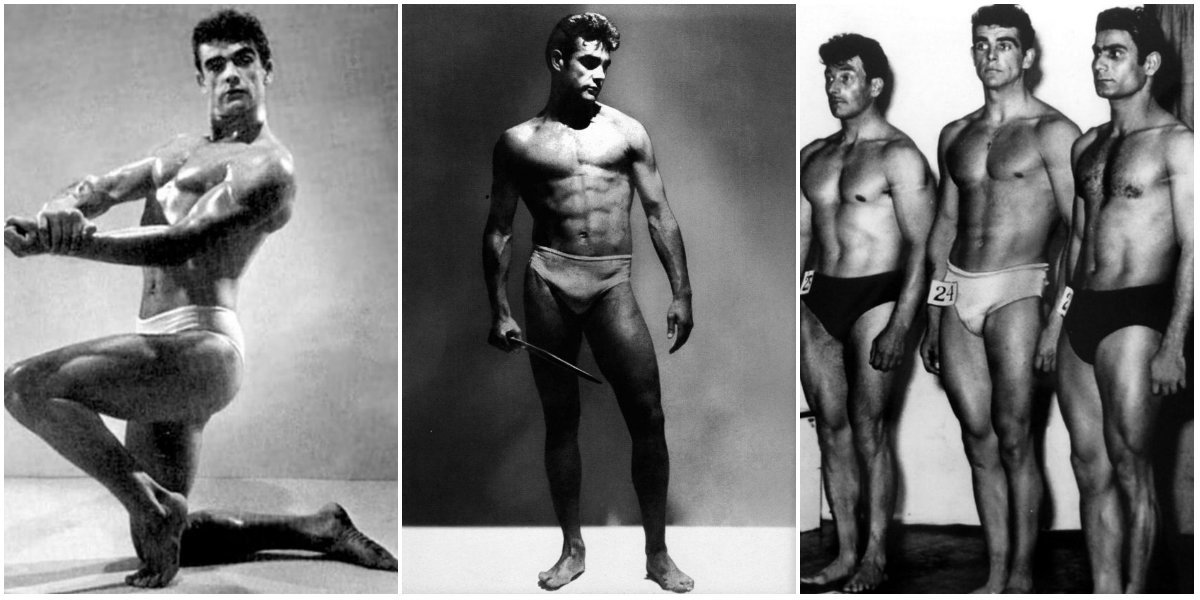Sean Connery Bodybuilding