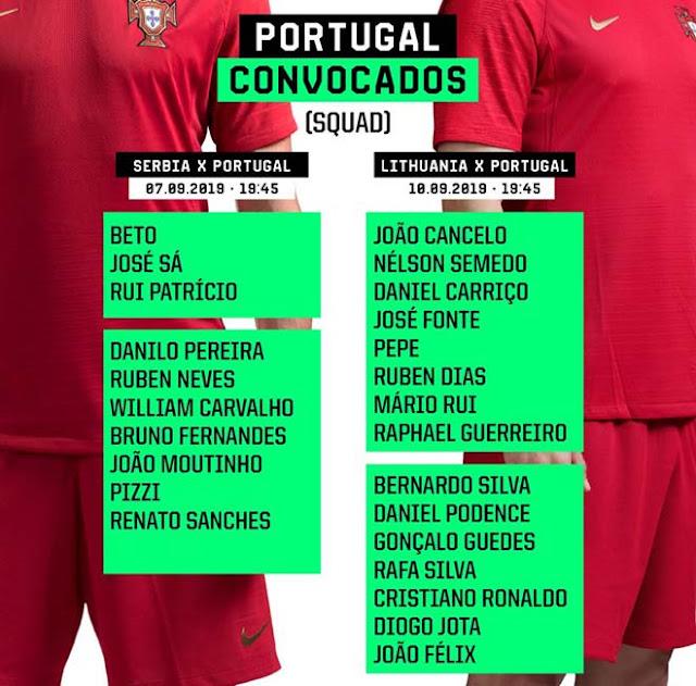 Tin HOT bóng đá sáng 30/8: Ronaldo & Joao Felix triệu tập lên tuyển cho vòng loại Euro