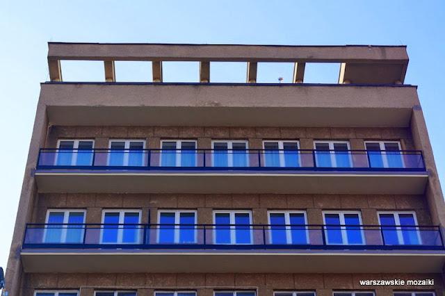 Warszawa Śródmieście blok mieszkalny apartamentowiec Ludwik Paradistal