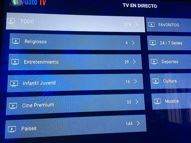 GatoTV APK Actualizacion Noviembre 2018
