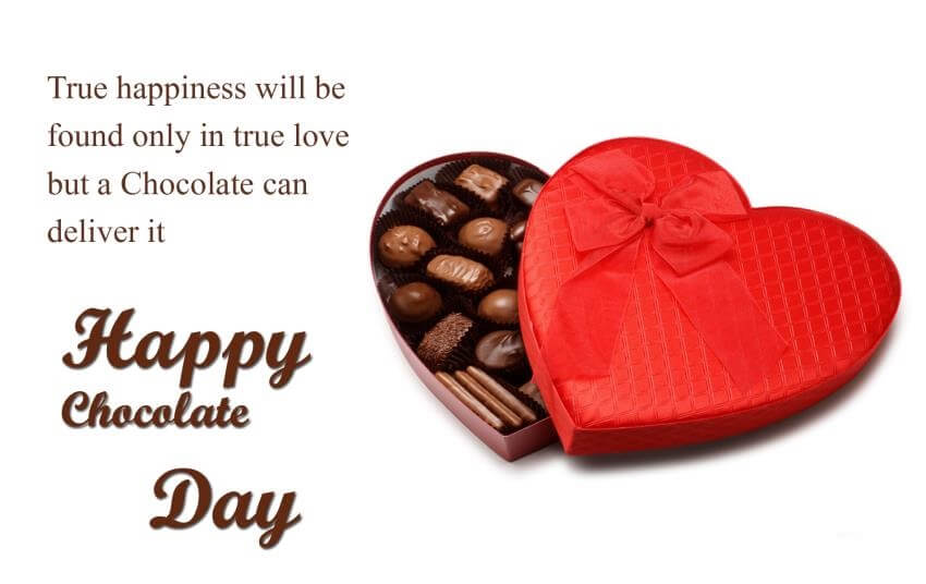 Chocolate Day SMS for Her