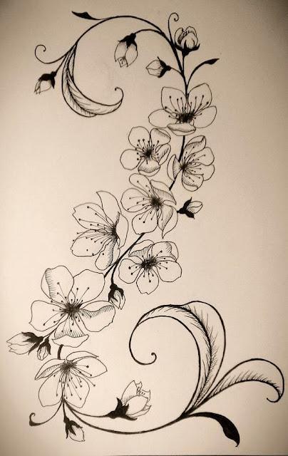 Stunning Cherry Blossom Tattoo Designs
