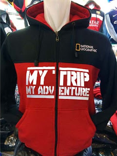 Jaket My Trip My Adventure