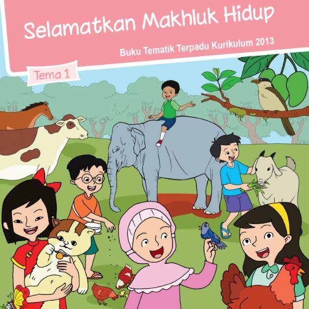 Buku Siswa Kelas 6 SD/MI Tema 1: Selamatkan Makhluk hidup