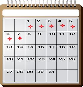 جدول الاكل في الصيام المتقطع خلال الاسبوع الأول