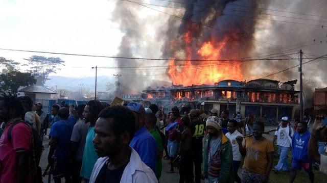 Demo Rusuh di Wamena, Massa Diduga Mahasiswa yang Kembali ke Papua