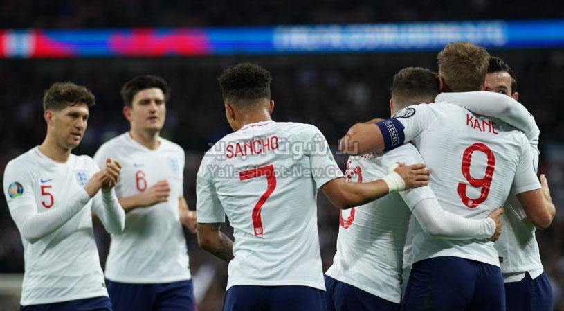 إنجلترا vs الجبل الأسود