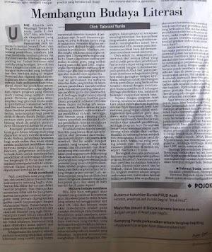 Menulis Esai dan Artikel, Menulis Masa Depan