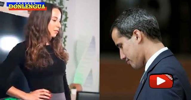 Influencer Austríaca hizo una broma con Juan Guaidó por no hacer nada