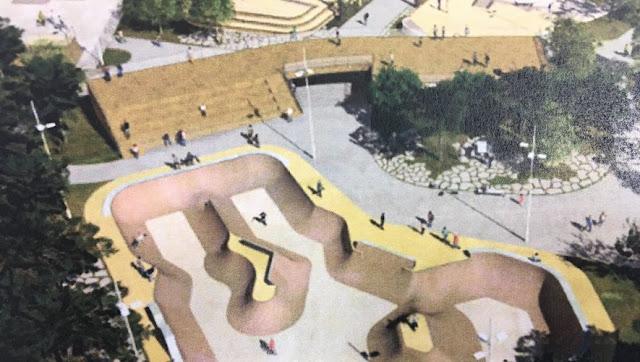 Nouveau skate bmx park Montpellier olympique