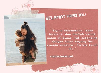 ucapan selamat hari ibu dari anak yang menyentuh hati