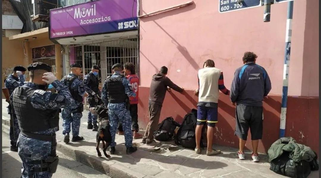 Detienen a 24 personas por violación del aislamiento social preventivo y obligatorio en Jujuy