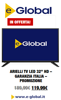 TV in Offerta su e-Global.it