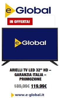 TV in Offerta su e-Global.it