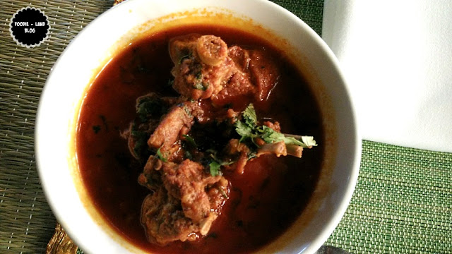 Kosha Mangsho @ M Café | The Marriott Whitefield | Bangalore